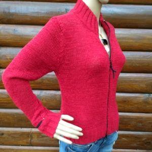 Ana Nonza Zip Up Sweater